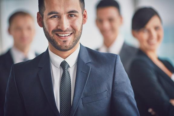 as a leader, uses leadership skills